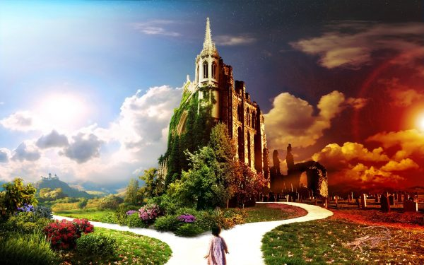 Кращі притчі українською. Притча Ворота Пекла та Раю
